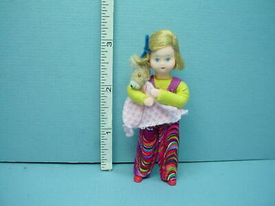 "Miniature Young Girl /""Franzi/"" #10520 Dollhouse Doll Handcrafted Erna Meyer"
