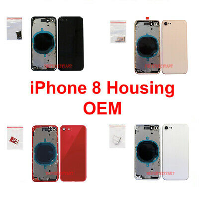 OEM Replacement Back Housing Frame Battery Glass Door Cover Fits Apple iPhone 8