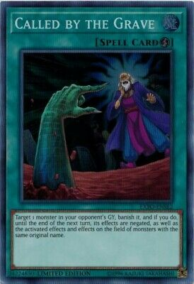 Yugioh Called by the Grave - EXFO-ENSE2 - Super Rare - NEW 3 AVAILABLE
