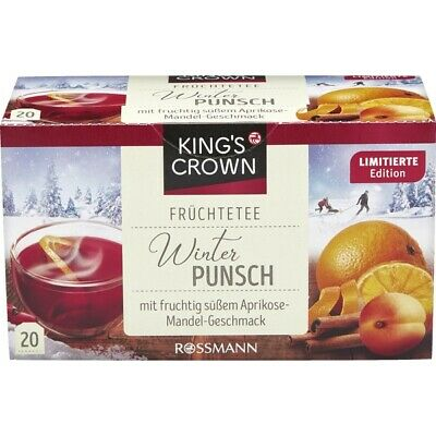 King's Crown ~ white & green tea flavoured with sweet - dry pomegranate flavour