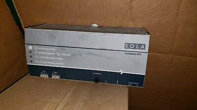 SOLA INDUSTRIAL UPS SDU 500 Power Supply #2776DK - $59 99