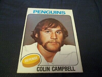 1975-76 OPC O-Pee-Chee #346 Colin Campbell Rookie Penguins - ex
