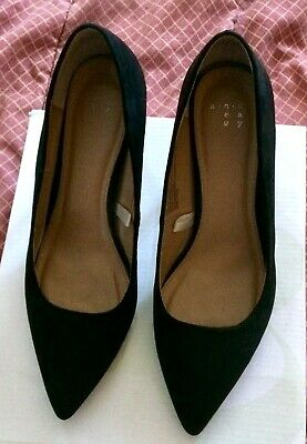 235ce34f5d A NEW DAY Gemma Pointed Toe Black Pumps/Heels ( Size 7- New Without ...