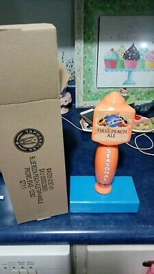 Blue Moon First Peach Ale Tap Handle Brand New In Box 10 Inch