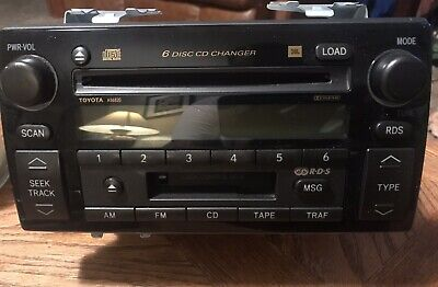 04 CAMRY MATSUSHITA AM FM 6 Disc CD Player Cette Stereo ... on