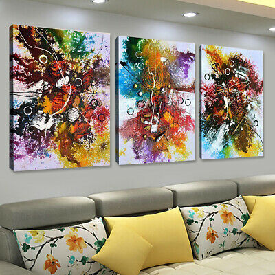 Latest Abstract Modern Art Painting Canvas Panel Picture Wall Hanging Decor UK