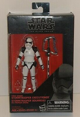 """Star Wars The Black Series First Order Stormtrooper Executioner 2017 New 3.75"""""""