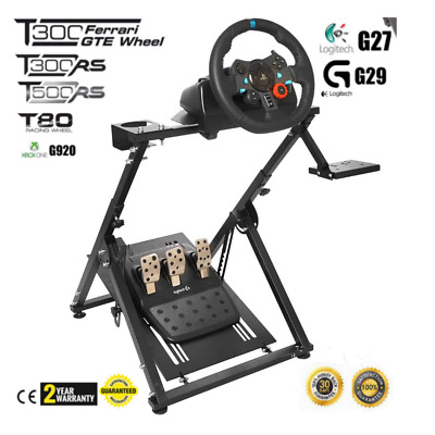"Racing Simulator Steering Wheel Stand Pro""X"" Logitech G27/G29/G920/T300RS/T500RS"
