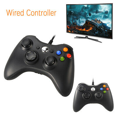 Slim Wired USB Game Pad Joypad Controller For Microsoft PC Xbox 360 AC429