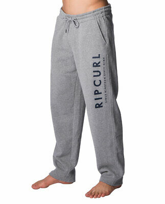 NWT Rip curl Transfer Mens Track Pants Fleece Sweat Trackies Jogger Bottom S-3XL