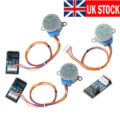 3PCS/Sets ULN2003 Motor Driver Board + DC 5V Stepper Motor 28BYJ-48 for Arduino