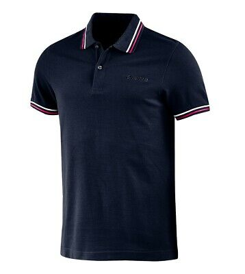Polo Uomo Blu Scuro Colletto Maniche Corte Logo LOTTO Sport L73 Piquet GIOSAL