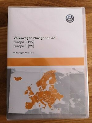 Volkswagen Navigation AS Europa 1 (V9)  NEU & OVP