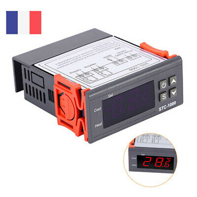 220V Numerique STC-1000 Controleur de Temperature Thermostat Regulateur -50~110℃