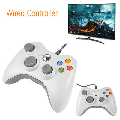 Slim Wired USB Game Pad Joypad Controller For Microsoft PC Xbox 360 AC480