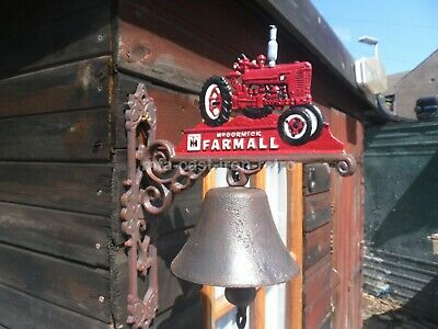 Cast Iron farmall tractor bell