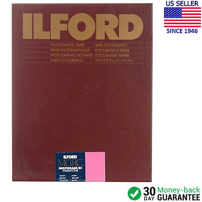 "Ilford Multigrade Warmtone RC Paper (Glossy, 8 x 10"", 100 Sheets) 1902303"