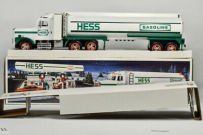 1990 HESS Toy Gasoline Tanker Truck with LIGHTS & SOUND - New In Box