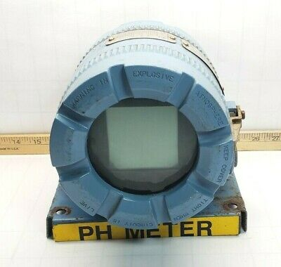 ROSEMOUNT TWO WIRE pH TRANSMITTER 9-32 VDC 5081-P-FF-67