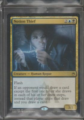 Notion Thief MAsters 25 Magic The Gathering  MTG Rare Human Rogue CCG Card TCG