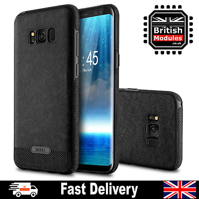 Luxury Genuine Real Leather Shockproof Case Cover For Samsung Galaxy S9 S8 S10