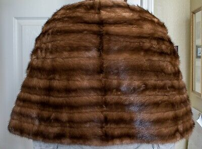 194d28f82791d VINTAGE MINK STOLE Shawl Wrap Real Fur Genuine Luxurious High Quality