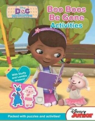 Disney Doc McStuffins Activity Book - Boo-Boos Be Gone - Brand New