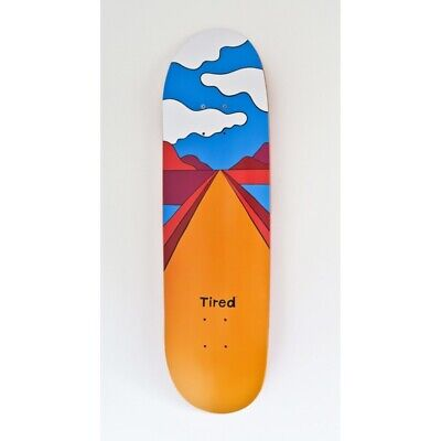 Piet Parra - Yellow curbed road  - skateboard Tired air max