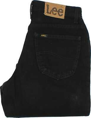 50fd4a93 Lee Virginia Baggy Black Straight Jeans High Waisted W30 L33 (38684)