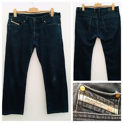 299ea1c8 DIESEL Viker Stretch Men's Dark Blue Jeans Straight Fit W36 L32 Casual Smart