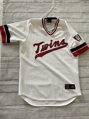 5dc96a9a Vtg Minnesota Twins Jersey Cooperstown Collection Mens L USA Baseball  Majestic