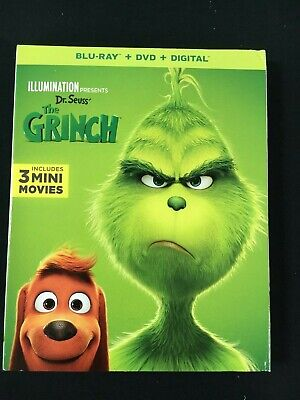 The Grinch (Blu-Ray  (2019) ONLY Blu-ray
