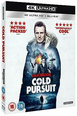 COLD PURSUIT (2019): Action, Crime, Liam Neeson, Laura Dern - RgB 4K + BLU-RAY