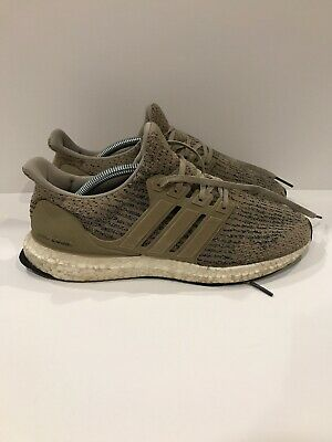 1d007aa9a MENS ADIDAS ULTRA Boost 3.0 Trace Khaki Running Shoes Size 9 ...