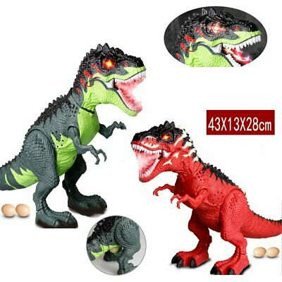 Walking Dragon Toy Fire Breathing Water Spray Dinosaur Christmas Kid Gift Toy E3