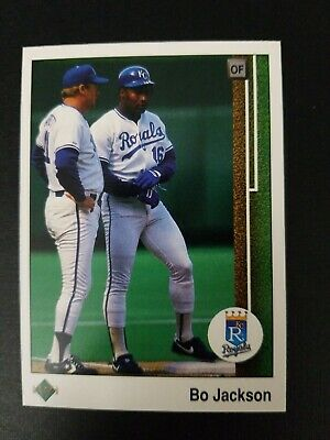1989 Upper Deck Bo Jackson Baseball Card 221 Kansas City