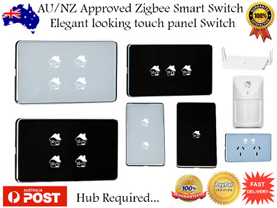 Smart Switch ZigBee Get Smart Home Light Switch AU/NZ Approved Home Automation
