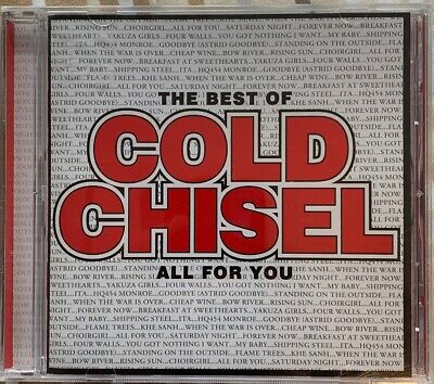 The Best of Cold Chisel: All for You by Cold Chisel (CD, Oct-2011, EastWest) New