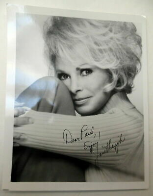 JANET LEIGH Autographed PHOTO Actress PSYCHO Halloween H20 Horror CLASSIC PC1476