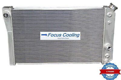 "28.5/"" Radiator FANS For Chevy S10//S10//BLAZER//Corvette V8 Conversion ZR-1 82-02"