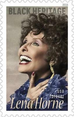 2018 50c Lena Horne, Legendary Performer Scott 5259 Mint F/VF NH