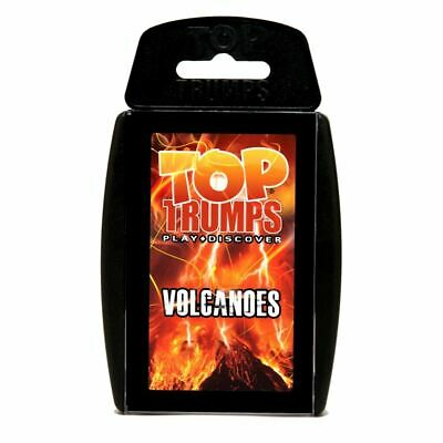 Top Trumps Educational Fun Card Game - VOLCANOES