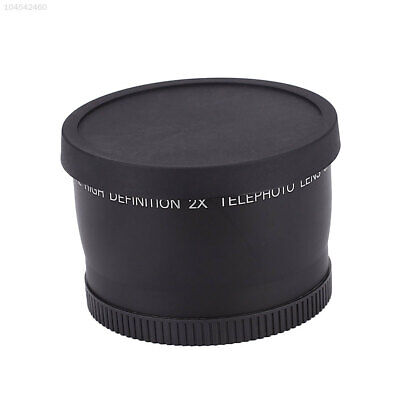 58mm 2.0X Magnification Telephoto Tele Lens Optical Glass for Digital Camera SLR