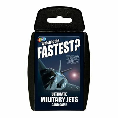 Top Trumps Educational Fun Card Game - ULTIMATE MILITARY JETS