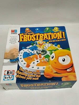 Hasbro 2007 Frustration Board Game With New SLAM-O-MATIC, Boxed Good Condition