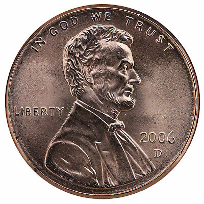 2006 D Lincoln Memorial Cent BU Penny US Coin