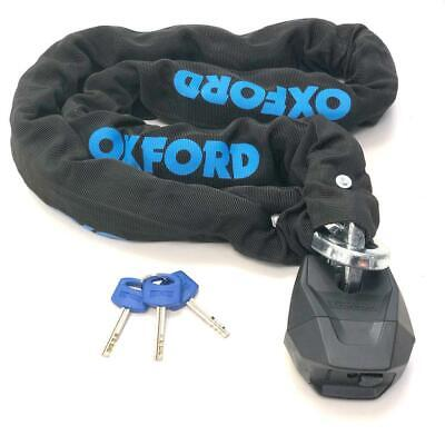 Oxford LK161 Hardcore XL 13 Chain & Lock 1.5m/13mm