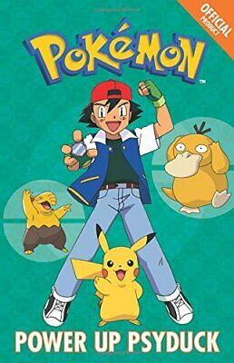 Official Pokemon Fiction: Power Up Psyduck 9781408352137 Fast Free Shipping--
