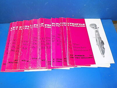 Profile Publications Aircraft Pink Series - Back Issues
