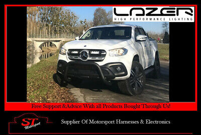 Lazer Lights Mercedes X-Class 2017+ Grille Kit With Triple-R 750 With PL